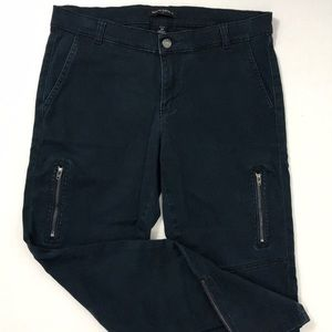 BANANA REPUBLIC green utility pants